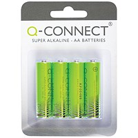 Q-Connect AA Battery (Pack of 4)