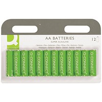 Q-Connect AA Battery (Pack of 12)