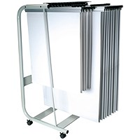 Q-Connect Mobile Plan Storage Trolley