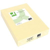 Q-Connect Coloured Paper - Cream, A4, 80gsm, Ream (500 Sheets)