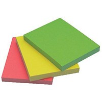 Q-Connect Quick Notes 38 x 51mm Neon (Pack of 3) KF01224