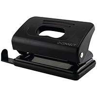 Q-Connect Light Duty Hole Punch 10 Sheet Black
