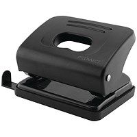 Q-Connect Medium Duty Hole Punch 20 Sheet Black
