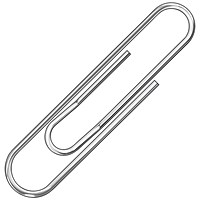 Q-Connect Paperclips Lipped 32mm (Pack of 1000)