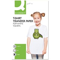 Q-Connect T-Shirt Transfer Paper (Pack of 10)