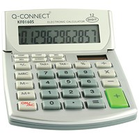 Q-Connect Semi-Desktop Calculator 12-Digit KF01605