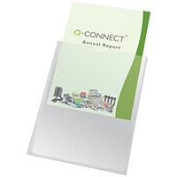 Q-Connect A4 Card Holder - Pack of 100