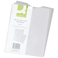 Q-Connect A6 Card Holder - Pack of 100