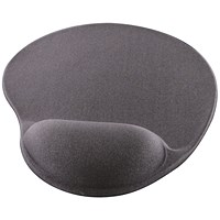 Q-Connect Gel Mouse Mat Grey KF02213