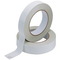 Q-Connect Double Sided Tape, 25mm x 33m, Pack of 6