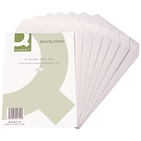 Q-Connect C5 Envelopes Pocket Self Seal 90gsm White (Pack of 20 x 25)