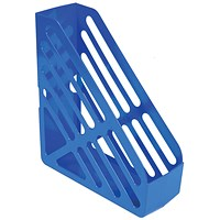 Q-Connect Magazine Rack - Blue