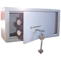Q-Connect Key-Operated Safe, 7kg, 6 Litre Capacity