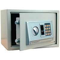 Q-Connect Electronic Safe, 8kg, 10 Litre Capacity