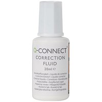 Q-Connect Correction Fluid 20ml (Pack of 10)