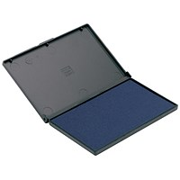 Q-Connect Large Stamp Pad Blue