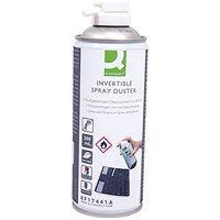 Q-Connect HFC Free Air Duster 200ml Invertible