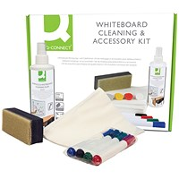 Q-Connect Whiteboard Cleaning and Accessory Kit