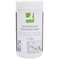 Q-Connect Whiteboard Cleaning Wipes (Pack of 100)