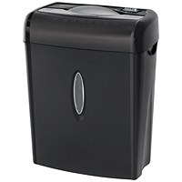Q-Connect Q6CC2 Cross Cut Paper Shredder (Shreds up to 6 sheets of 75gsm paper) KF17971
