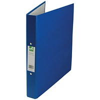 Q-Connect Ring Binder, A4, 2 O-Ring, 25mm Capacity, Blue, Pack of 10