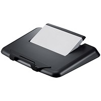 Q-Connect Plastic Laptop Stand - Black