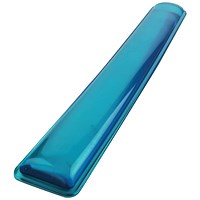 Q-Connect Clear Gel Wrist Rest Blue