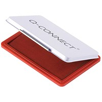 Q-Connect Medium Stamp Pad Red