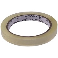 Q-Connect Easy Tear 12mmx66m Polypropylene Tape