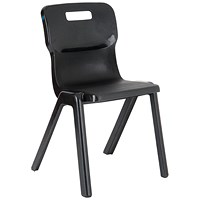 Titan One Piece Chair 310mm Charcoal