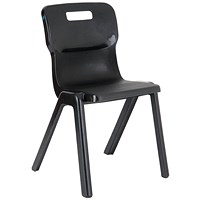 Titan One Piece Chair 380mm Charcoal