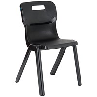 Titan One Piece Chair 430mm Charcoal