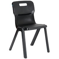 Titan One Piece Chair 460mm Charcoal
