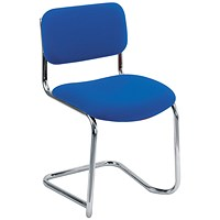 Arista Cantilever Meeting Chair Blue