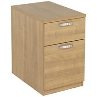 Avior 2 Drawer Mobile Pedestal, Ash