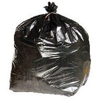 2Work Heavy Duty Refuse Sack Black (Pack of 200)