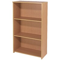 Jemini Intro Medium Bookcase - Beech