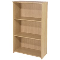 Jemini Intro Medium Bookcase - Oak