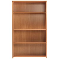 Jemini Intro Tall Bookcase - Beech