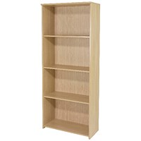 Jemini Intro Tall Bookcase - Maple