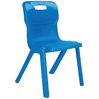 Titan One Piece Chair 260mm Blue (Pack of 10)