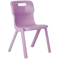 Titan One Piece Chair 310mm Purple (Pack of 10)