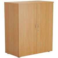 FF First Wooden Storage Cupboard 1000mm Beech