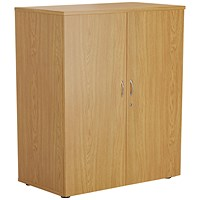 FF First Wooden Storage Cupboard 1000mm Nova Oak