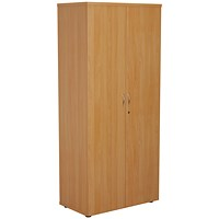 FF First Wooden Storage Cupboard 1800mm Beech