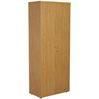 FF First Wooden Storage Cupboard 2000mm Nova Oak