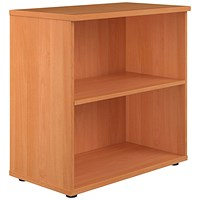Jemini 800 Bookcase D450mm Beech