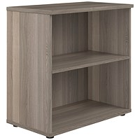 Jemini 800 Bookcase D450mm Grey Oak