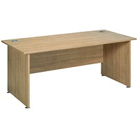 Avior Executive Rectangular Desk, 1800mm Wide, Ash