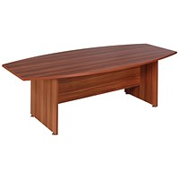Avior Boardroom Table, 2400mm Wide, Cherry